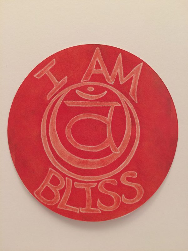 "I Am Bliss ~ 3.5""vinyl sticker"