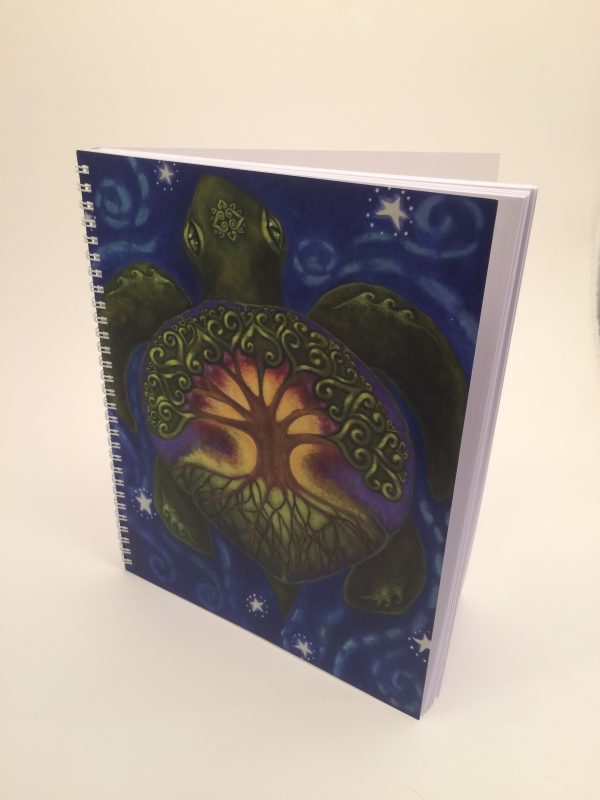 The Great Giver ~ journal side view