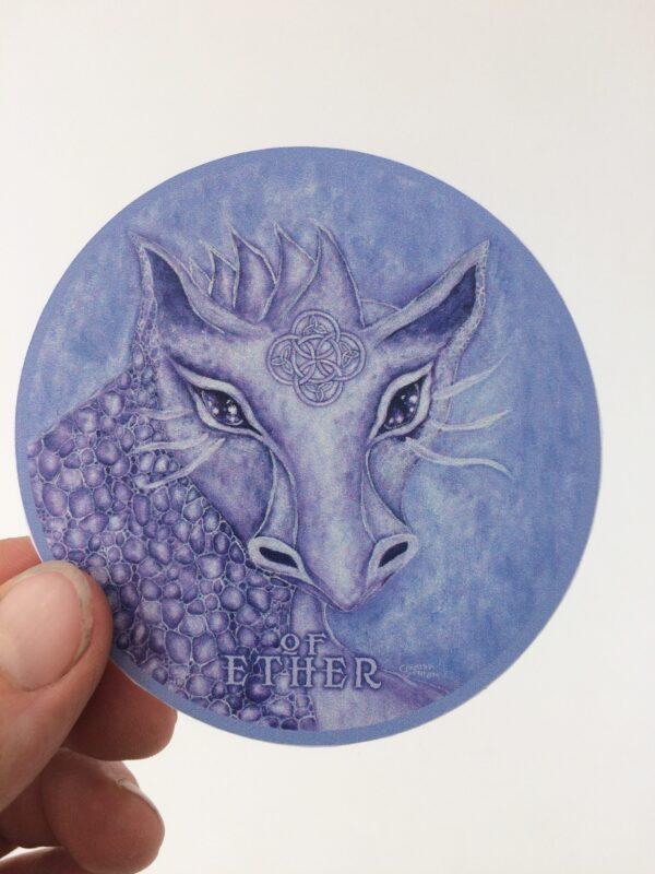 Of Ether ~ vinyl sticker