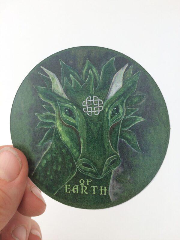 Of Earth ~ vinyl sticker