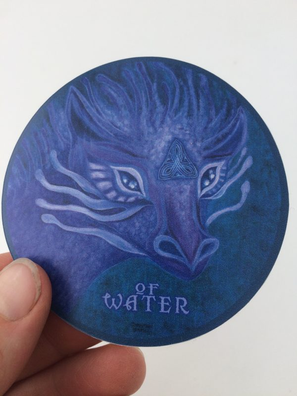 Of Water ~ vinyl sticker