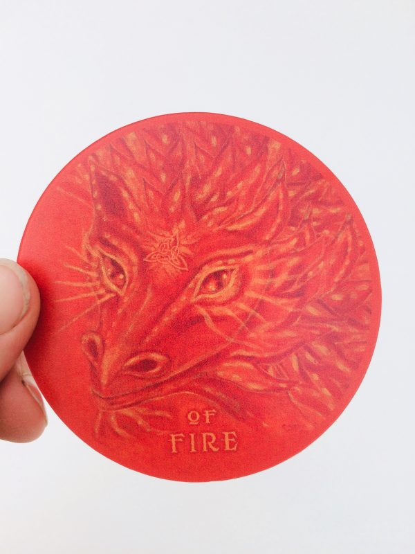 Of Fire ~ vinyl sticker