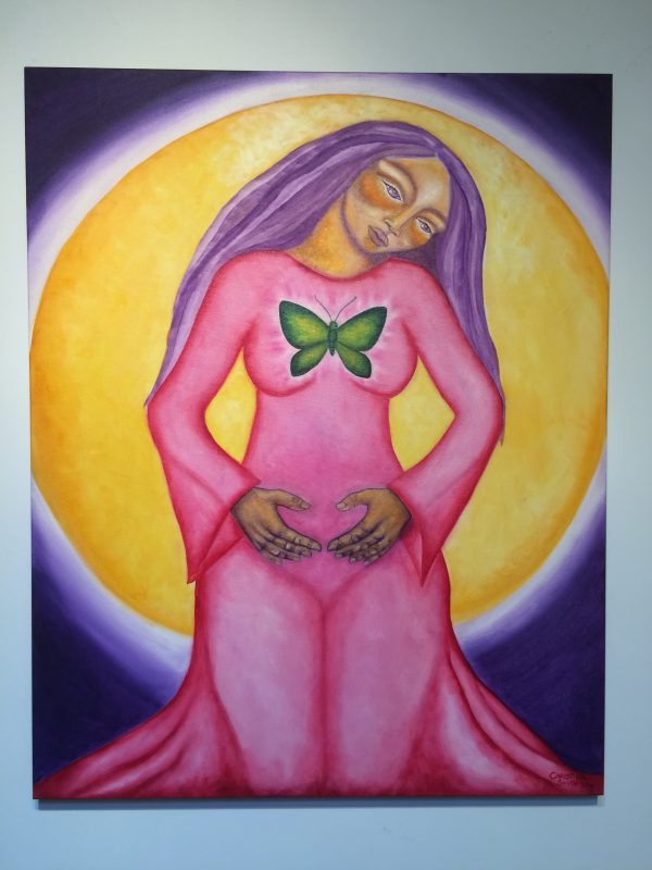 Sacred Womb ~ painting