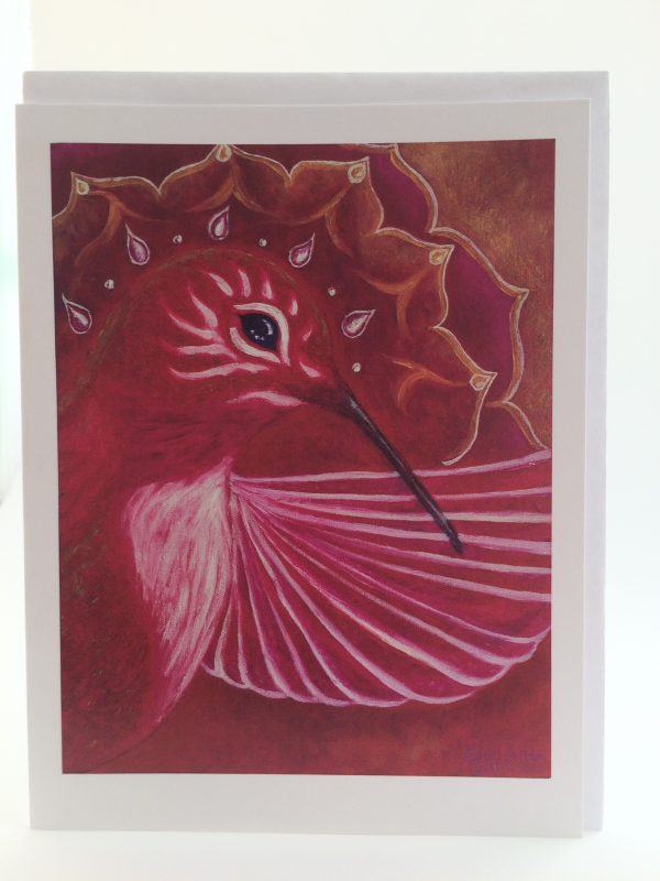 South*Hummingbird*Trusting ~ card