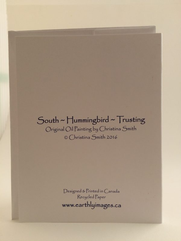 South*Hummingbird*Trusting ~ card(back)