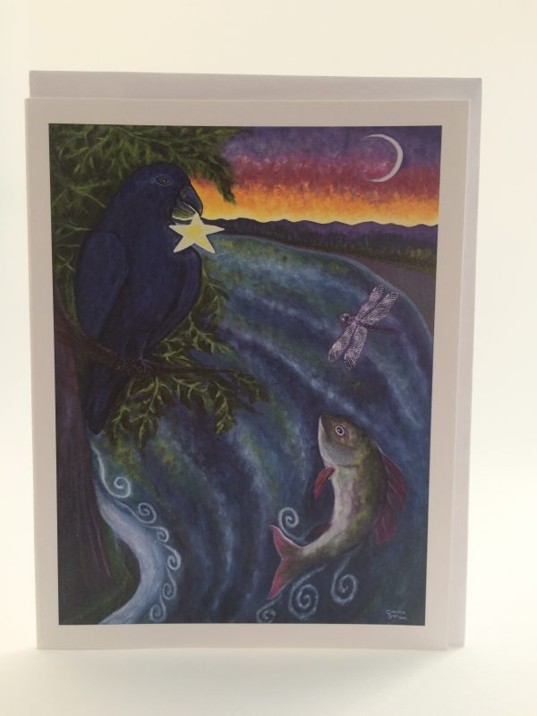 RavenStar, Moonfish & Dragonfly ~ card