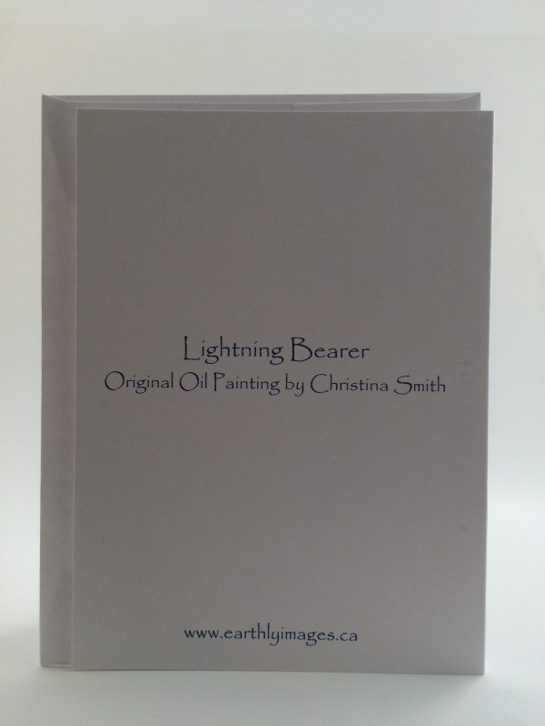 Lightning Bearer card (back)