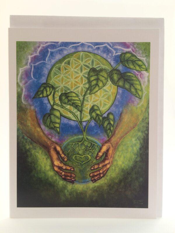Nurturing Oneness ~ card