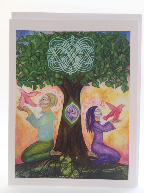 Honouring the Path of Love ~ card