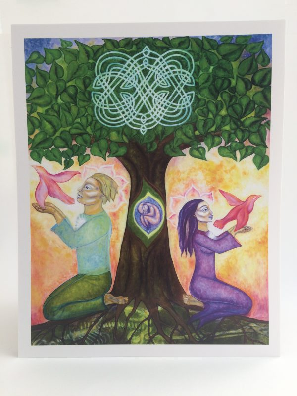 Honouring the Path of Love ~ print