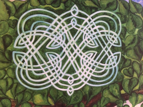 Honouring the Path of Love ~ print detail