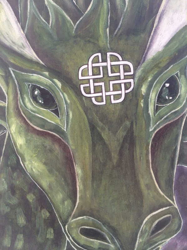 Of Earth ~ print detail