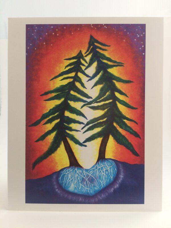 Love Trees ~ print