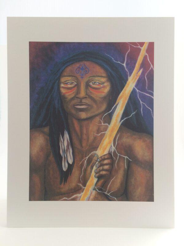 Lightning Bearer print