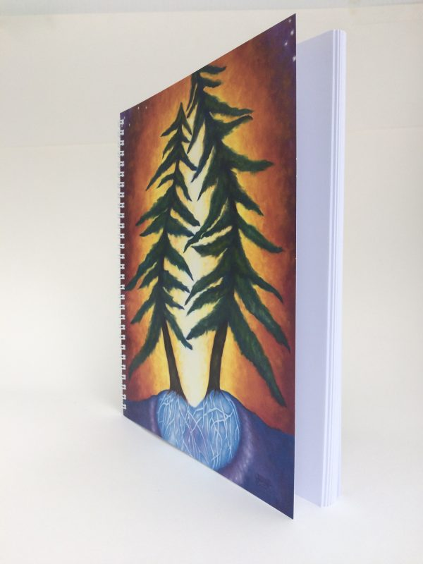 Love Trees ~ journal (side view)