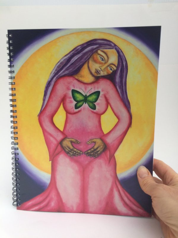 Sacred Womb ~ sketchbook