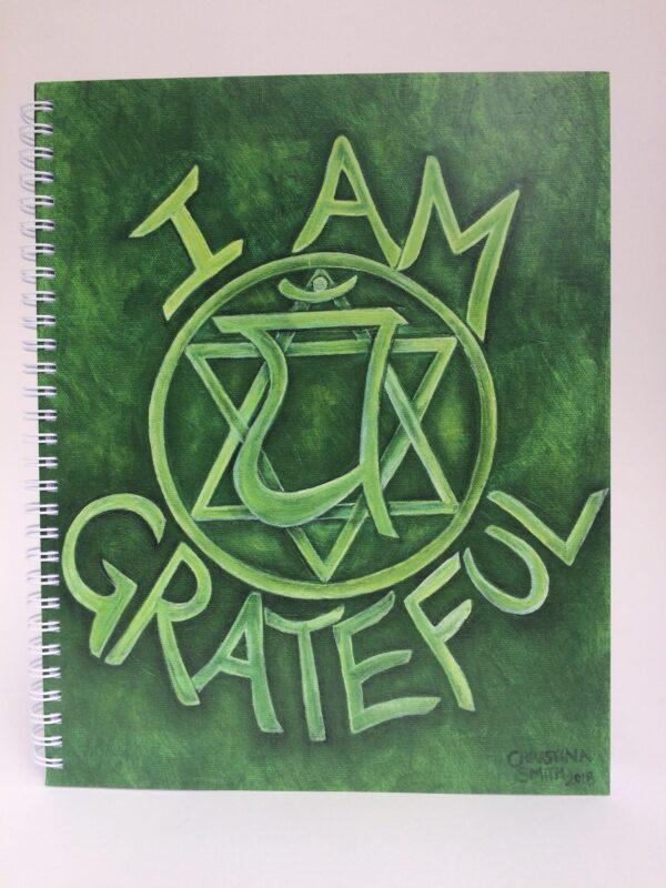 I Am Grateful ~ journal cover