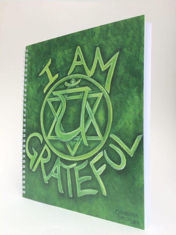 I Am Grateful ~ journal (side)