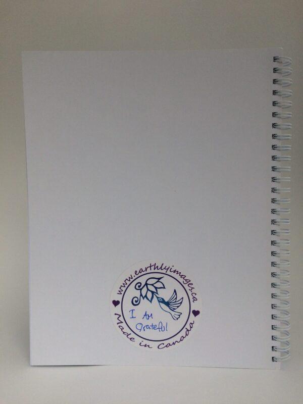 I Am Grateful ~ journal (back)