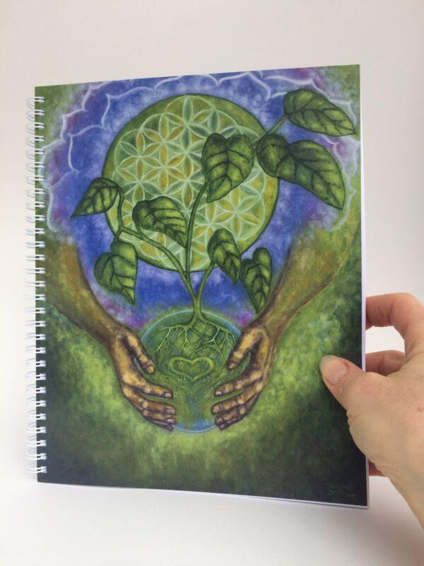 Nurturing Oneness ~ journal cover