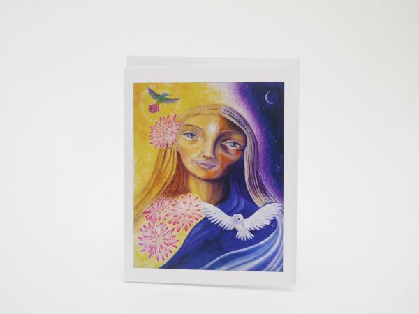 Honoring The Cycles In Darkness and Light - Card (front)