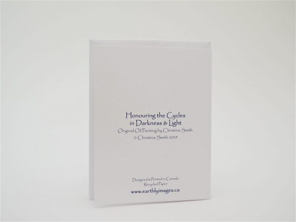 Honoring The Cycles In Darkness and Light - Card (back)