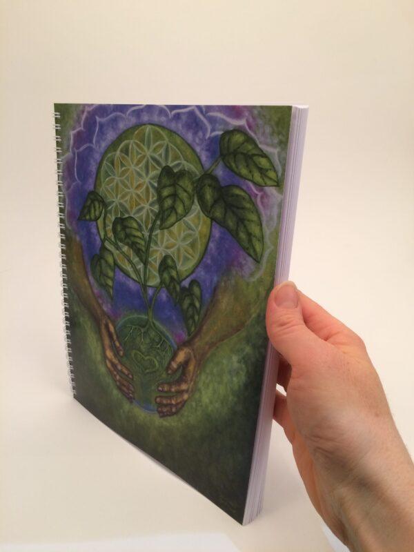Nurturing Oneness ~ journal side