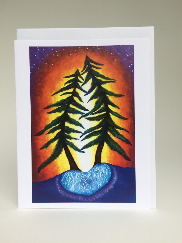 Love Trees ~ greeting card