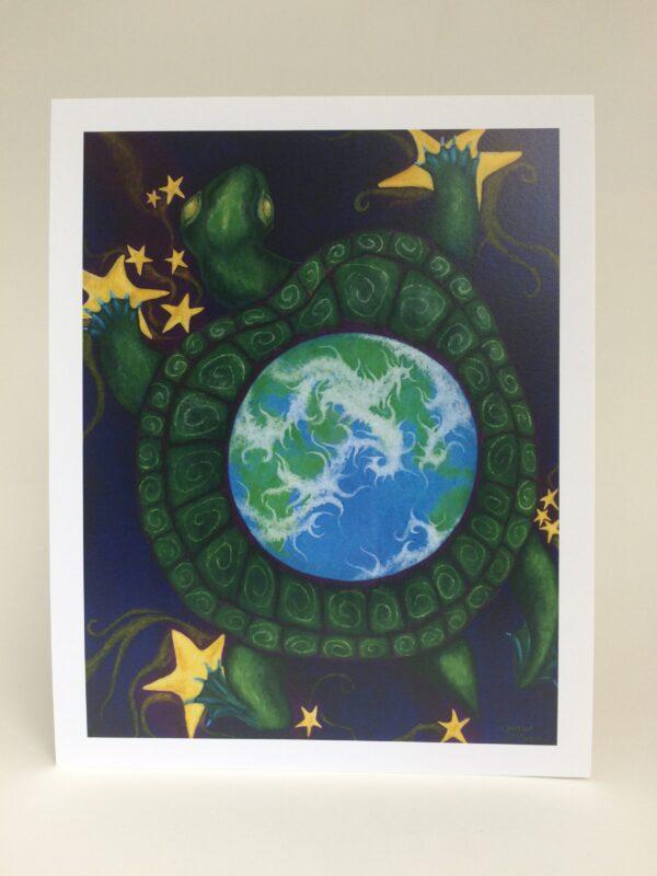 Cosmic Turtle ~ print