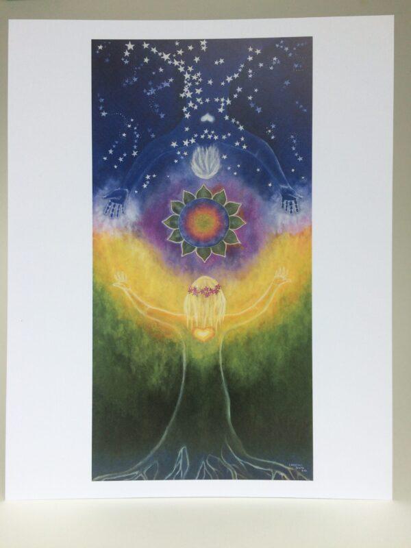 "Dance of Earth & Sky ~ 8""x10"" print"
