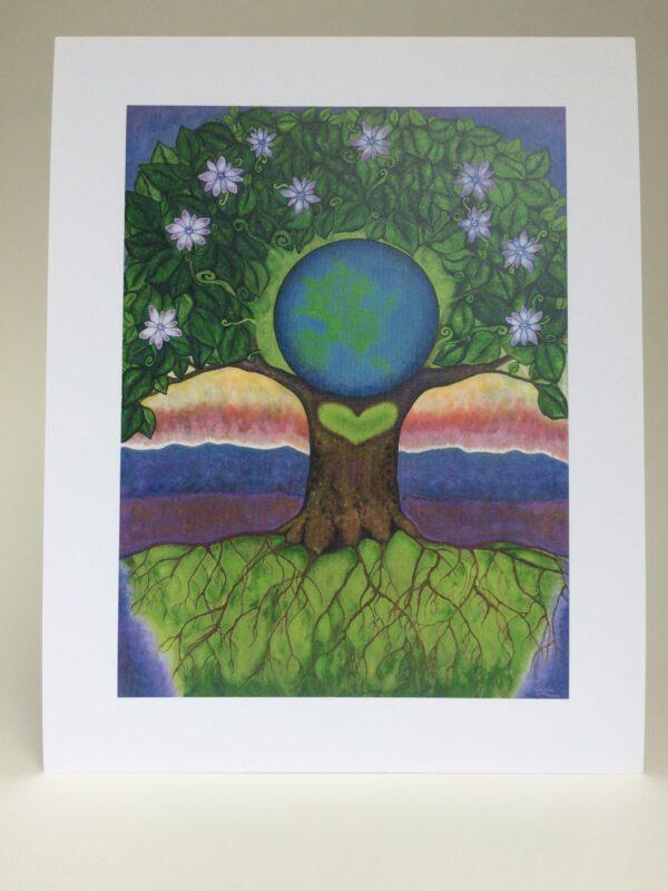 Gaia ~ print