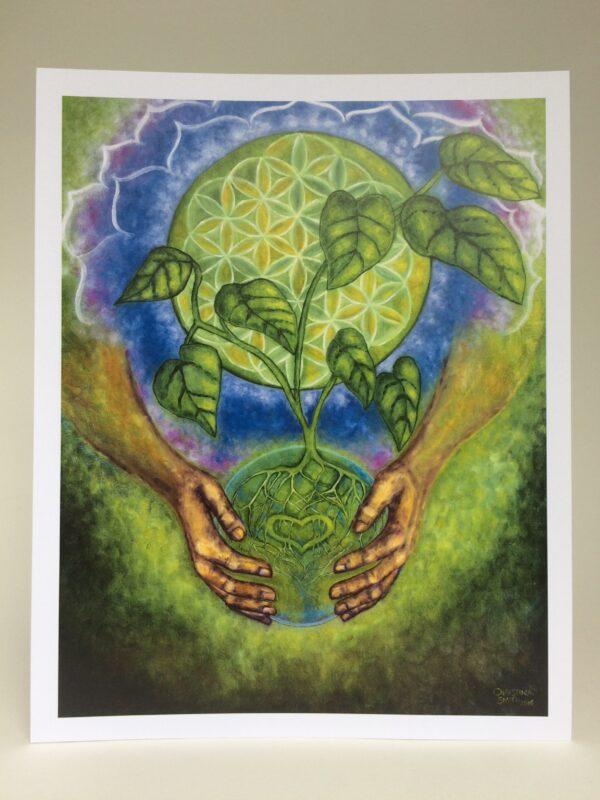 Nurturing Oneness ~ print