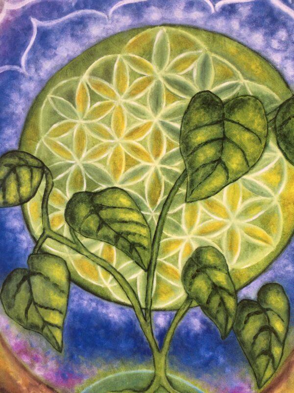 Nurturing Oneness ~ print detail