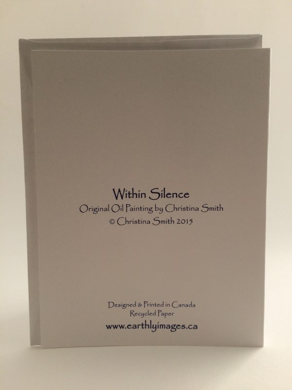 Within Silence ~ card(back)