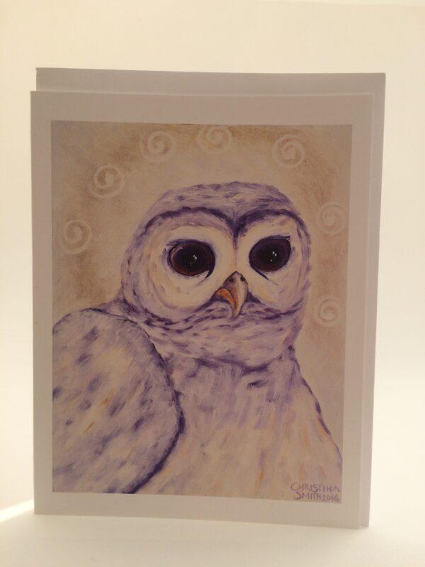 North*Owl*Wisdom ~ card