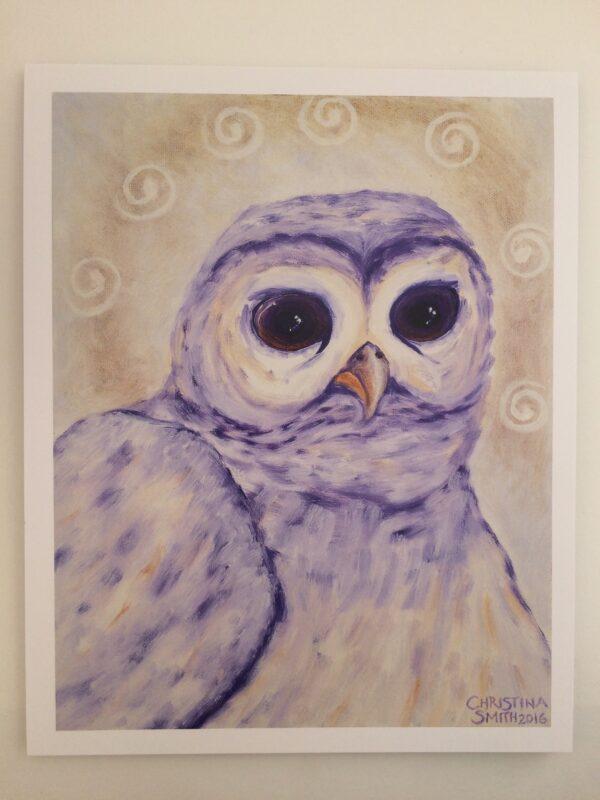 North*Owl*Wisdom ~ print
