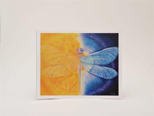Cosmic Balance - Art Print