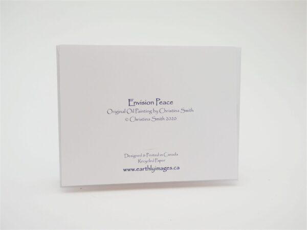 Envision Peace - Card (back)