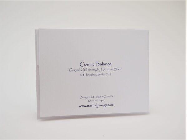 Cosmic Balance - Card (back)