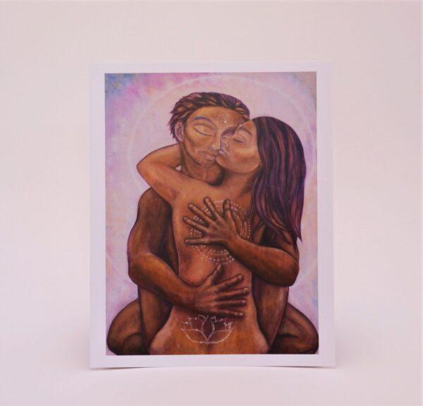Sacred Embrace - Art Print